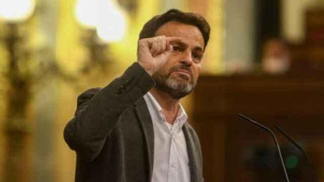 El presidente del Grupo Parlamentario de Unidas Podemos en el Congreso, Jaume Asens. EP