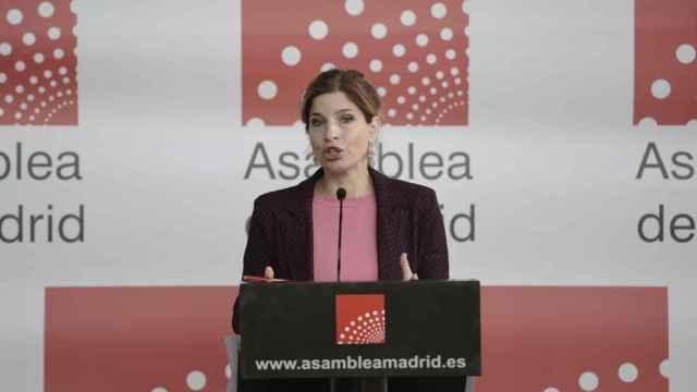 Hana Jalloul renuncia como portavoz del PSOE en la Asamblea de Madrid.