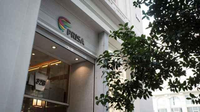Fachada de Gran Vía 32, sede del Grupo Prisa.