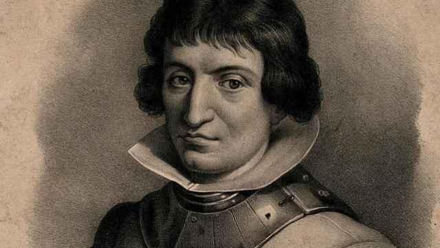 Retrato de Catalina de Erauso.