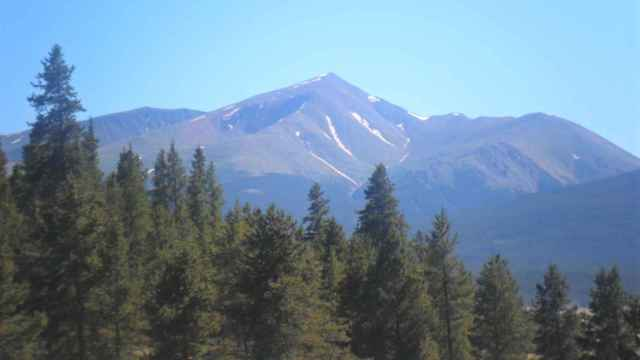 Monte Elbert, en Colorado.