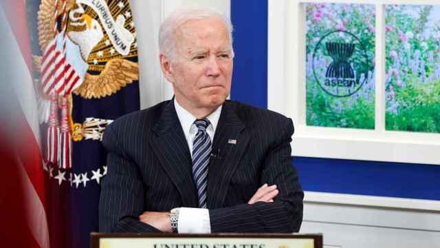 El presidente de EEUU, Joe Biden, durante una cumbre en Washington.