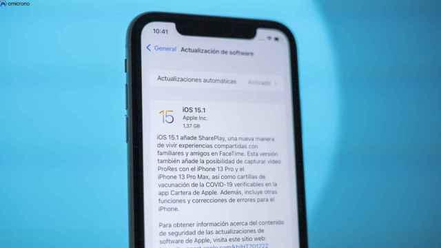 iOS 15.1.