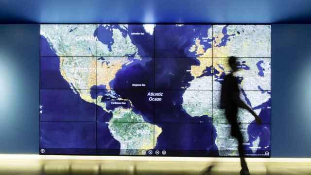 Mapamundi de Microsoft.