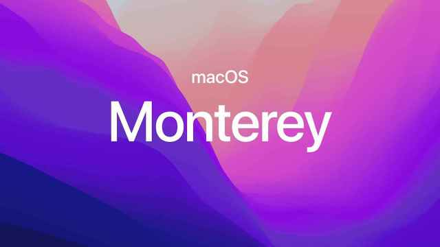 macOS Monterey.