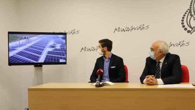 Presentación de una campaña de apoyo y promoción del sector empresarial en Manzanares (Ciudad Real)