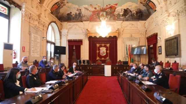 Junta Local de Seguridad entre el Ayuntamiento de Málaga y la subdelegación del Gobierno