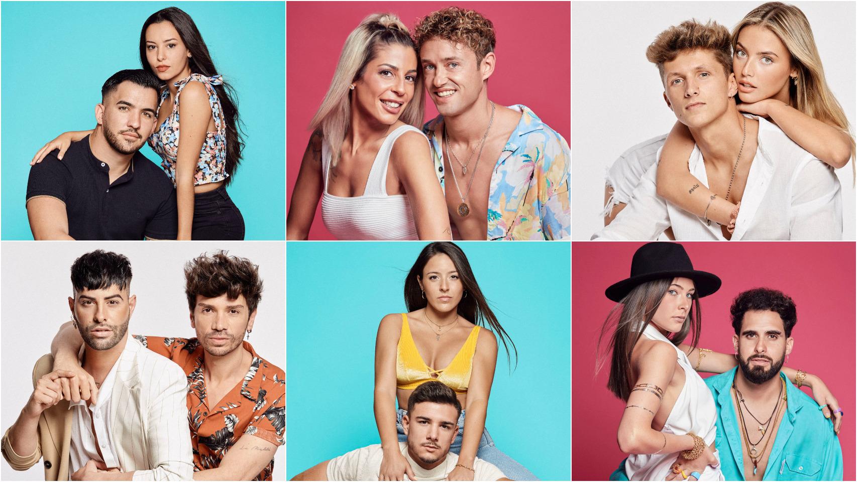 Netflix ha presentado a las seis parejas que participarán en 'Amor con fianza'.