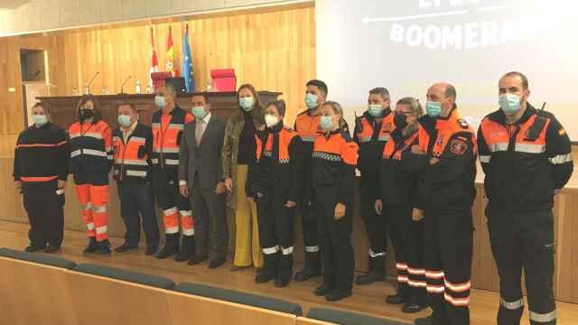 Presesentación de la campaña 'Efecto Boomerang', en Salamanca