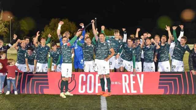Partido de Copa RFEF entre el CD Guijuelo y el Moralo
