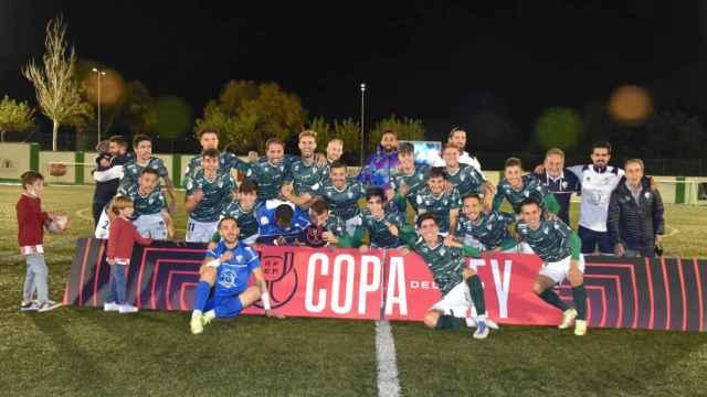 Imágenes del partido de Copa RFEF entre el CD Guijuelo y el Moralo