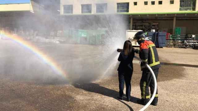 Jornada de prevención de incendios en CC. Valderaduey