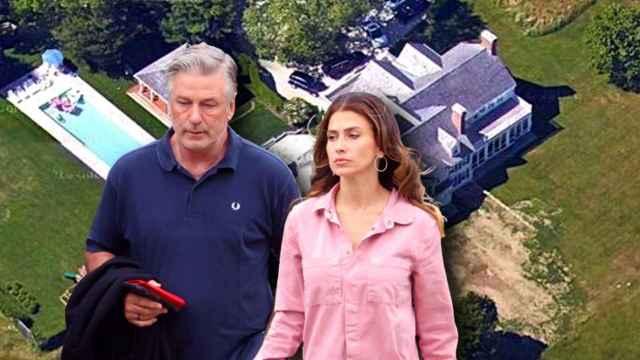 Alec e Hilaria Baldwin en un montaje de Jaleos.