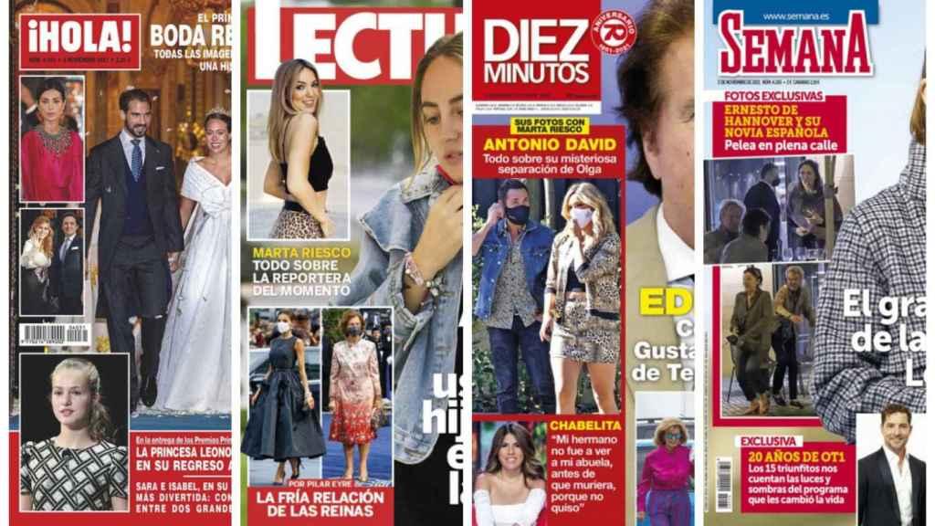 Estas son las revistas de este miércoles 27 de octubre.