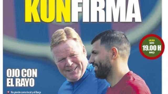 Portada Mundo Deportivo (27/10/21)