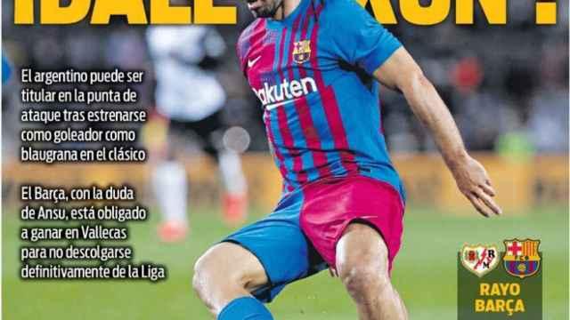 Portada Sport (27/10/21)