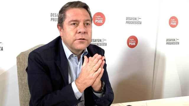 Emiliano García-Page, en una imagen de archivo