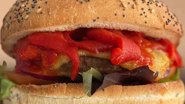 La hamburguesa vegana del restaurante toledano 'Street & Soul'.