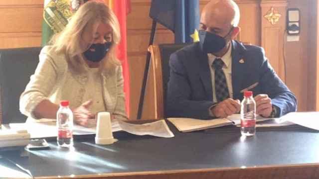 La alcaldesa de Marbella y el subdelegado del Gobierno en Málaga