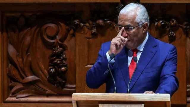 António Costa, en la Asamblea de la República este martes.
