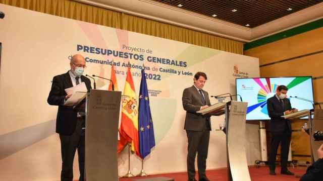 Presentación de los Presupuestos Generales 2022 de Castilla y León