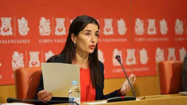 La líder de Cs en la Comunidad Valenciana, Ruth Merino.