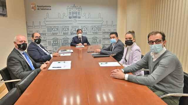 Reunión mantenida entre CES y el Ayuntamiento de Salamanca