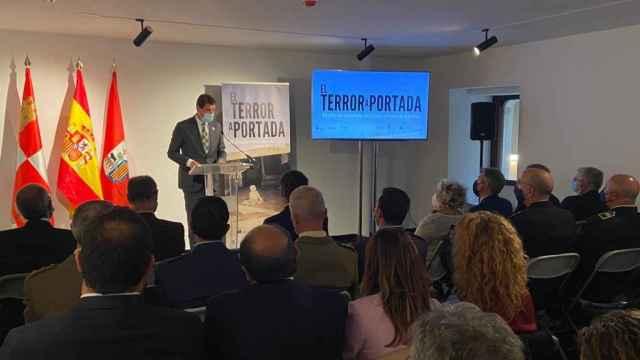"""Inauguración de la exposición """"El terror a portada. 60 años del terrorismo en España a través de la prensa"""""""