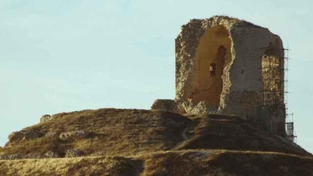 El castillo de Mota del Marques en riesgo de derrumbe