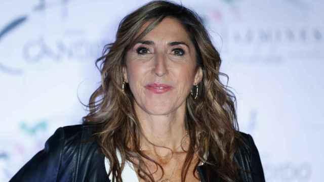 Paz Padilla en la presentación de Los Jazmines en Segovia.