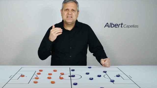 Albert Capellas en uno de sus vídeos de YouTube