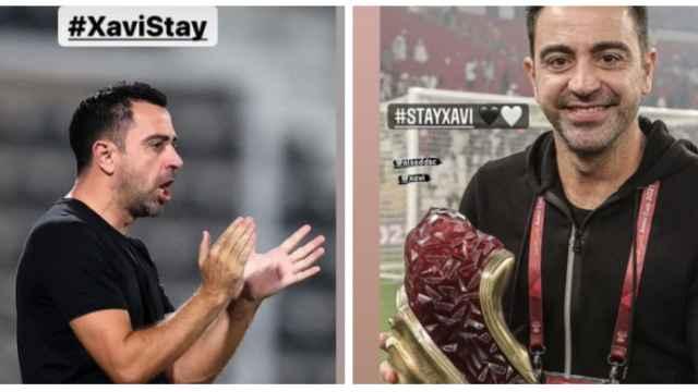 'Stay Xavi', la campaña del Al-Sadd y Qatar en redes sociales para pedirle que no fiche por el Barça
