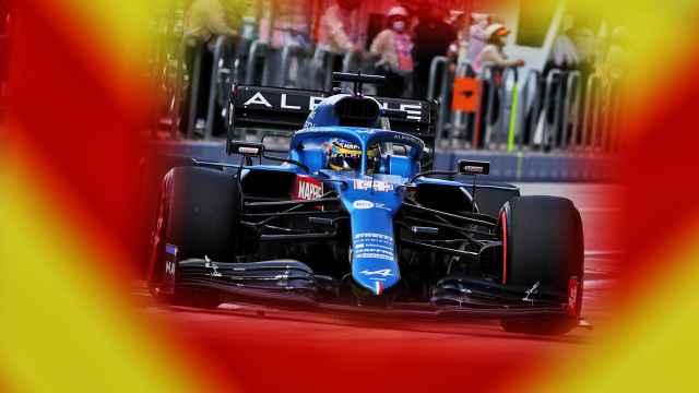 Fernando Alonso en el Gran Premio de Estados Unidos