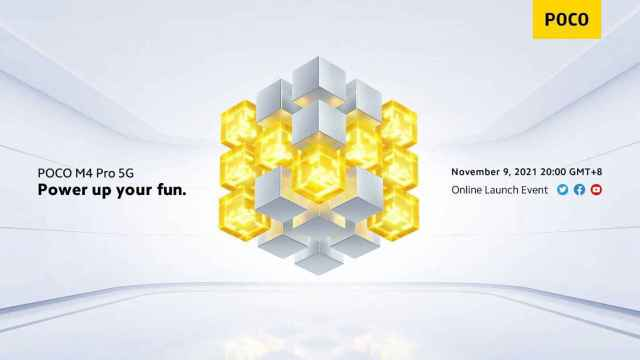 El POCO M4 Pro ya tiene fecha de presentación: el 9 de noviembre
