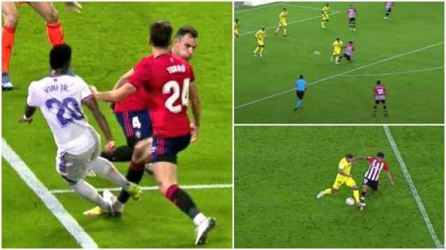 El penalti que Soto Grado no pitó al Real Madrid y el que sí señaló para el Athletic