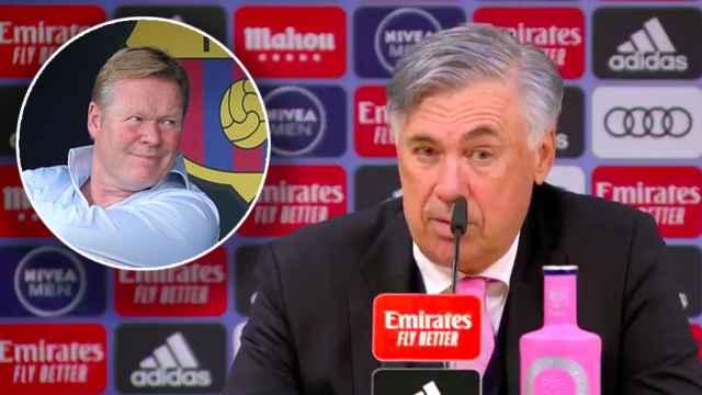 Ancelotti habla sobre Koeman