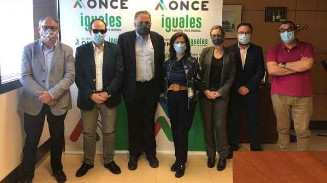 Miembros del jurado de los Premios Solidarios 2021 de la ONCE