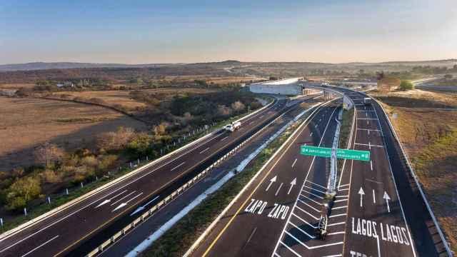 Una de las autopistas mexicanas de Abertis.