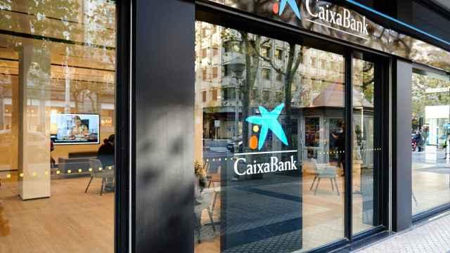 Una sucursal de CaixaBank.