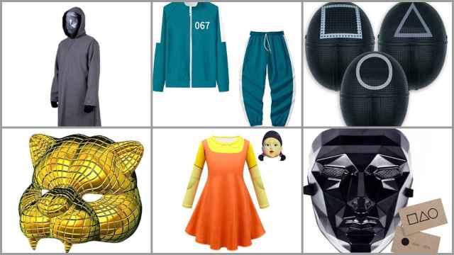 Los 12 disfraces del Juego del Calamar  para Halloween más baratos en Amazon: desde 4,72€