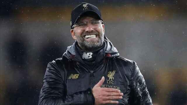 Jurgen Klopp, entrenador del Liverpool